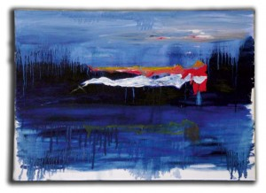 'Dream state', oil on canvas, 2011