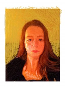 Self portrait, January 2015